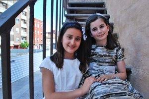 Maria i Rosa Nieves ens posen ací de guapes!