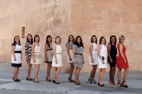 Candidates  a Corts d'Honor i Falleres Majors de Torrent 2014
