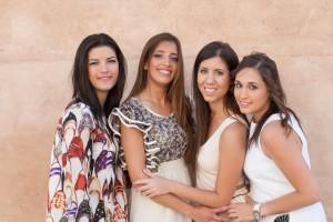 Elena, Mireia, Bea i Ana