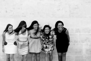 Ana, Bea, Elena i Juani